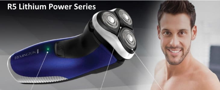 R5 Lithium Power Series shaver