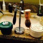 Escali shaving bursh in a kit