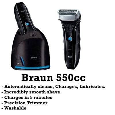 buy braun 550cc razor