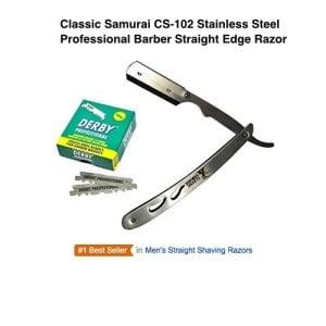 classic-samurai cs102 straight razor
